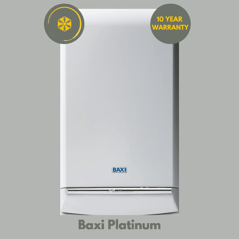 Baxi Platinum 10 Year Warranty