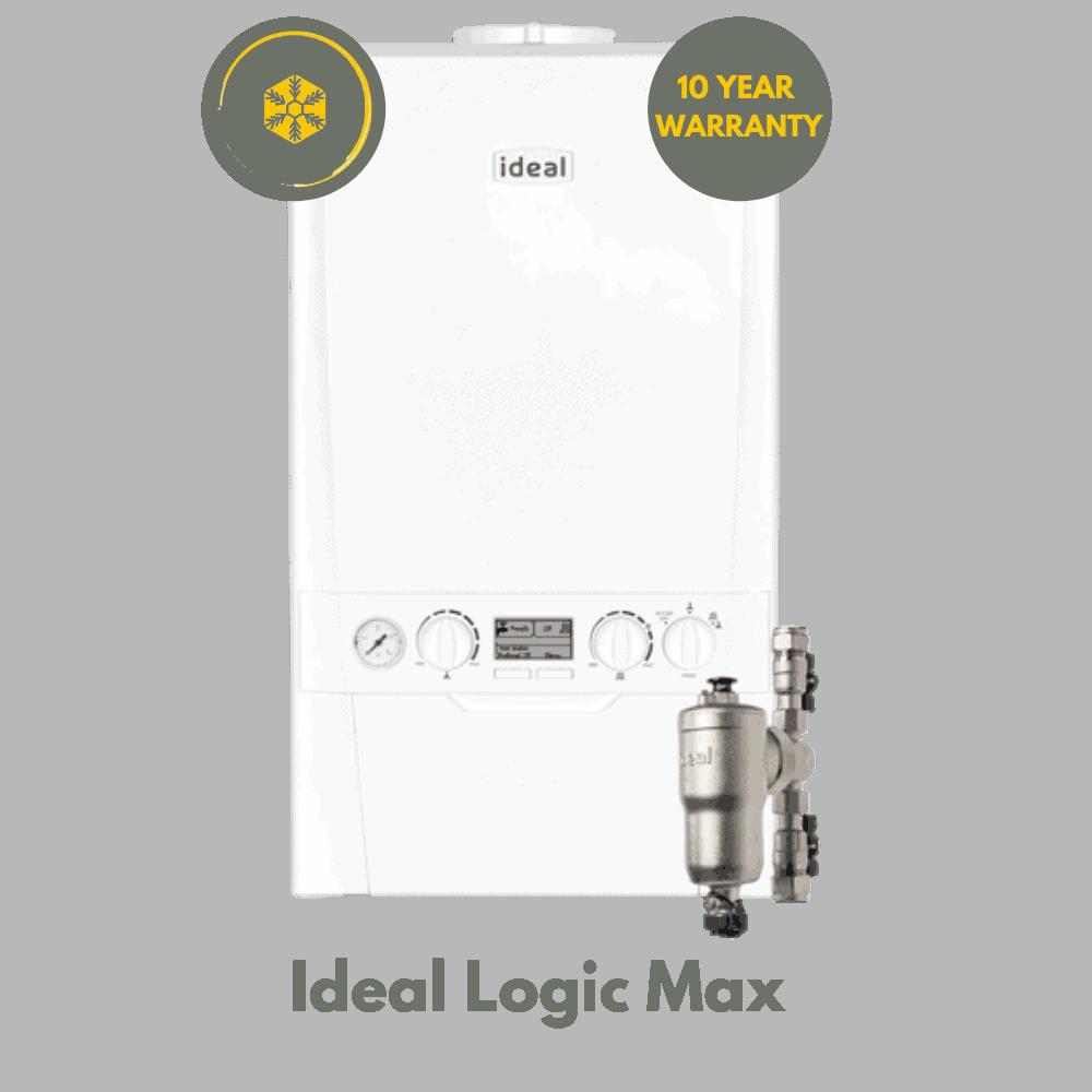 Ideal Logic Max 10 Year Warranty