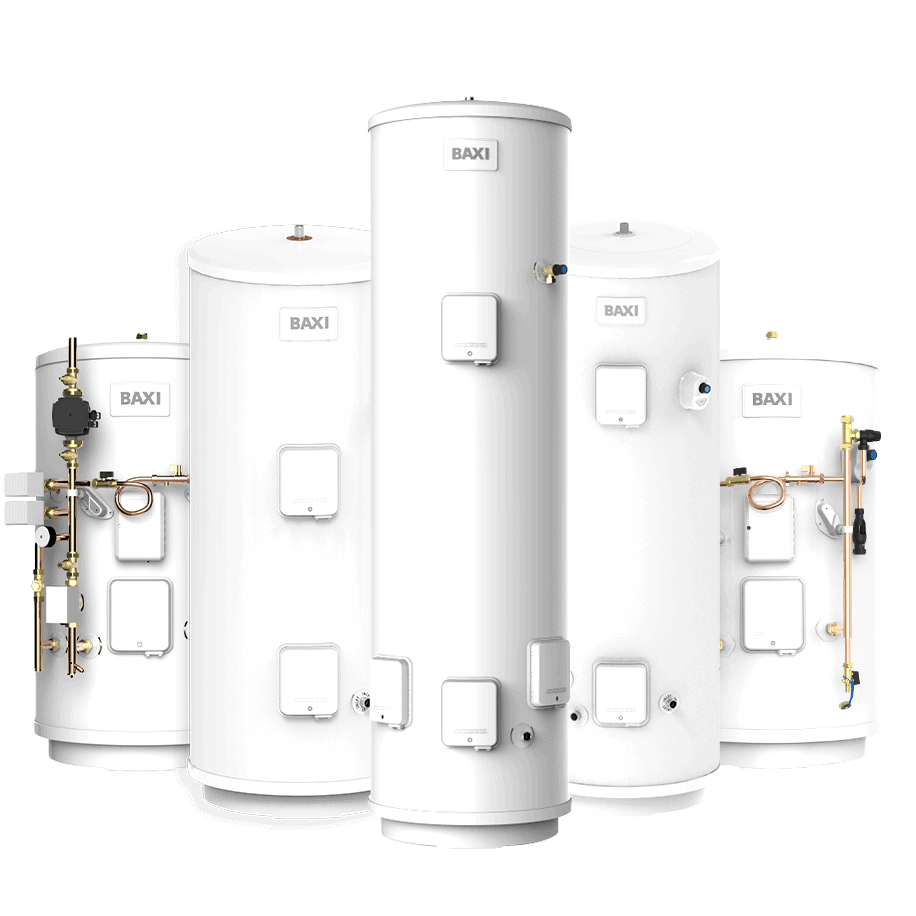 Hot Water Cylinders, Unvented Cylinders